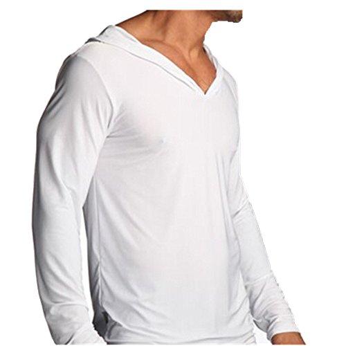 xhorizon TM FLK Man Men Flirty Lounge Sporting Yoga Tops Pyjamas