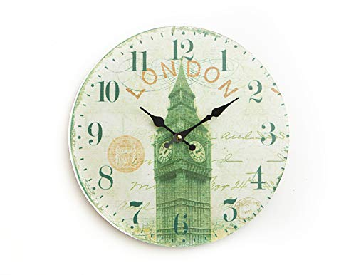 orative Wall Clock (12 Inch, London, Big Ben) ()