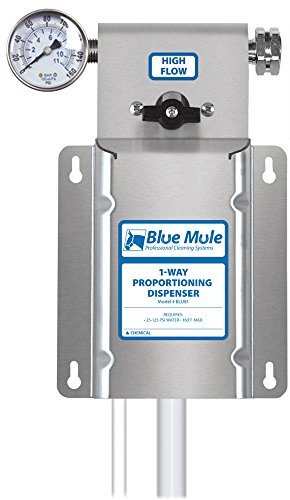 Chemical Mixing Dispenser - Blue Mule 1-Way Chemical Proportioning Dispenser