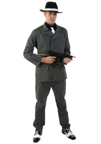 Sexy Pinstripe Gangster Costumes (Men's Wide Pin Stripe Gangster Costume)