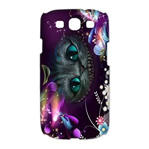 Custom Alice In Wonderland Hard Back Cover Case for Samsung Galaxy S3(3D) OE-34
