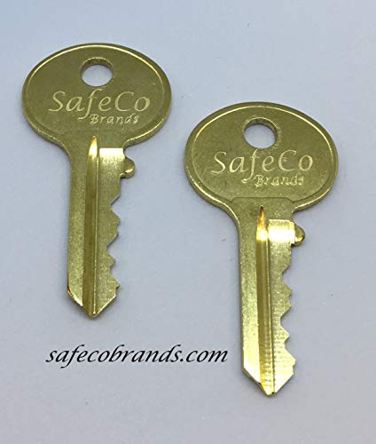 SafeCo Brands Filing Cabinet Keys for Hon - Hudson - Fire King - Turtle Code Series HG01 Thru HG150 (HG40)
