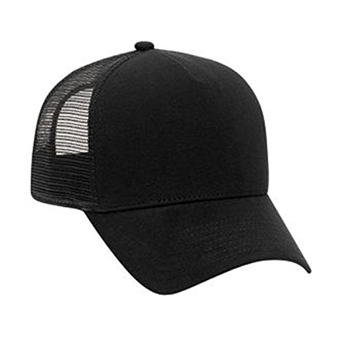 OTTO Jersey Knit Five Panel Pro Style Mesh Back Caps Five Panel Pro Style Caps