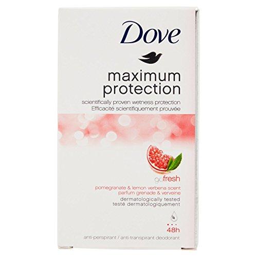 Dove Maximum Protection Go Fresh Pomegranate and Lemon Verbena Scent...