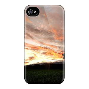 New Premium KxLxuDp5729ZFUBQ Case Cover For Iphone 4/4s/ Plane In The Sky Protective Case Cover