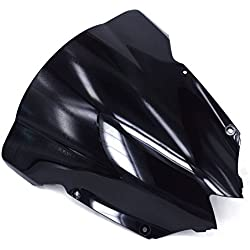 Smoke Transparent Windshield Wind Block Screen Protector For Yamaha YZF R6 YZF-R6 2008-2016