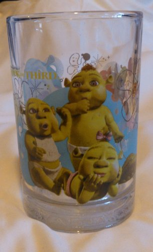 McDonalds Shrek the Third Baby Ogres Glass ()
