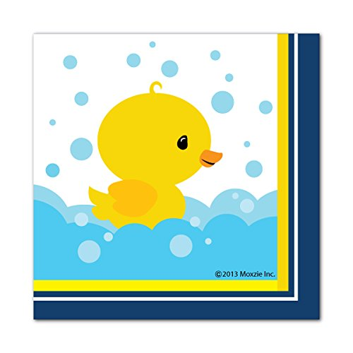 Little Ducky 48 Count 6.5 inch Birthday Party Lunch Napkins