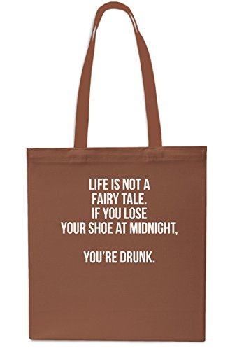 Shoe Fairy Life Chestnut Gym You Beach Tale litrest Grey Shopping Small 10 Bag x38cm at Not A Drunk 42cm Lose You're is If Your Midnight Tote qr4tqwz