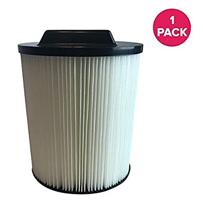 Think Crucial Air Filter Replacement Parts Compatible with Rigid Vacs Part 00917816000 17816 00917912000 17912 9-17816 VF4000 - Fits Models 6 to 20 Gallon Wet, Dry Vacuums - Perfect for Home - Bulk