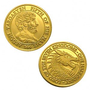 game-of-thrones-aegon-v-targaryen-brass-1-2-penny-collector-grade-by-shire-post-mint