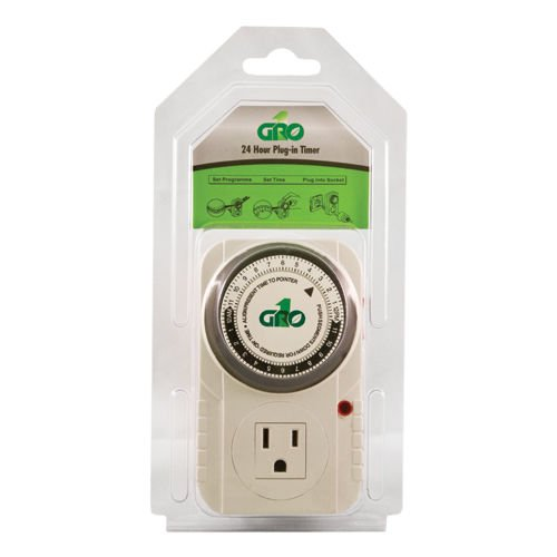SALE Single Outlet 120V Timer Mechanical Gro1 15 Min Increments Analog ;#G344T3486G 34BG82G47637