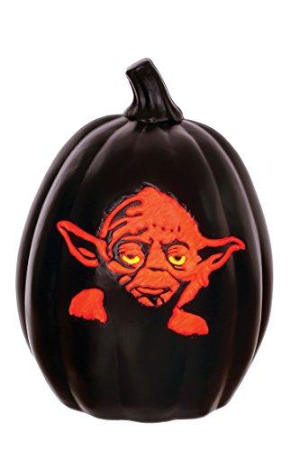 Star Wars Yoda Light Up Pumpkin