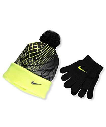 Nike Big Boys' 2-Piece Beanie & Gloves Set (One Size)