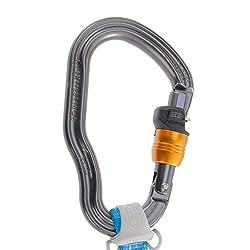 PETZL - Scorpio Vertigo, Via Ferrata Lanyard with Vertigo Wire-Lock Carabiners