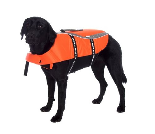 Outward Hound Kyjen   Designer Pet Saver Life Jacket, X Large, Orange