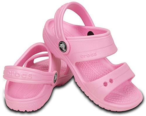 Sandália, Crocs, Classic Sandal Kids, Carnation, 25, Criança Unissex