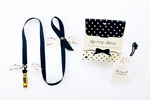 Zip My Dress Premium Zipper Puller with Black Ribbon by Zip My Dress (Image #1)