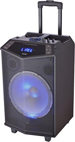 Denver Bluetooth altavoz TSP-404. Bluetooth. Batería 3000mAh. 12 pulgadas. Salida Volumen: 40W RMS