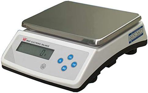 CGOLDENWALL 0,1 g Laborwaage, Laborwaage, elektronische Waage, Laborwaage, Laborwaage, Elektronische Waage mit RS232 Print Port LCD Display