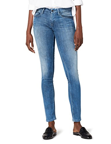 Mid 861 para Rise Klein Mujer Stretch New Calvin Vaqueros Jeans NCGST Skinny Grey Grau Core 0HEtwx6