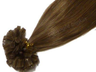 2 extensiones - vrais cheveux- 50 cm 1 g mechas para soldadura: Amazon.es: Salud y cuidado personal