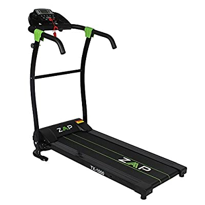 ZAAP TX1000 735W Pro Motorized Electric Treadmill with Adjustable Manual Incline