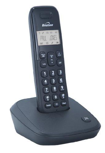 Binatone Veva 1700 Dect Cordless Phone - Black, Single