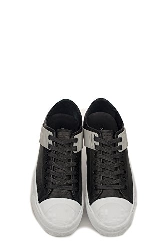 Neil Barrett Mens Sneakers In Pelle Nera Pbct231g9000524