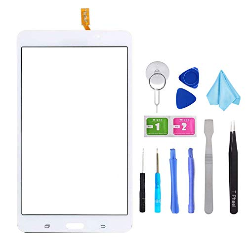 White Touch Screen Digitizer for Samsung Galaxy Tab 4 - Glass Replacement  for SM-T230 T230NU 7