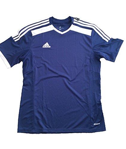 Adidas Herren T Shirt Trainingsshirt climacool Oberteil blau L