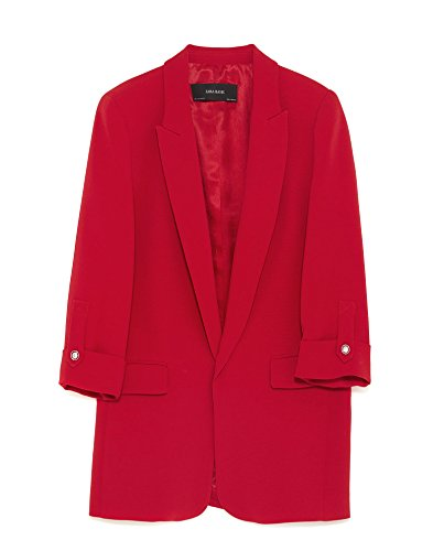 - Zara Women Blazer with Buttoned Sleeves 7809/583 (Large)