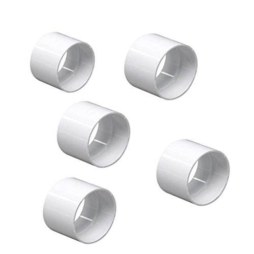 Stop Coupler Central Vacuum Fitting 5 Pack