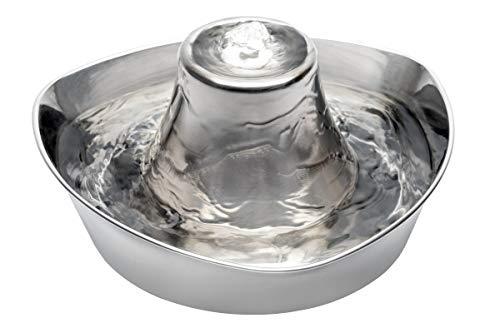 PetSafe Drinkwell - Fuente para Mascotas, 360, de Acero Inoxidable