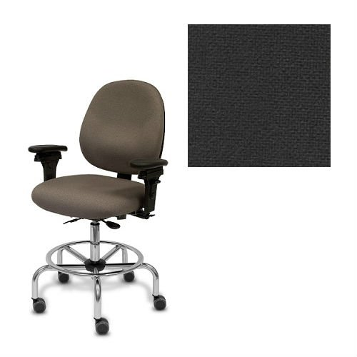 Hpd New Gray Ergonomic Desk Task Office Chair Midback