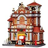 #7: Lemax 15262 Lemax Fire Station 11 in. Tall