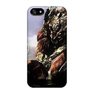 Fashion Tpu Cases For Iphone 5/5s- Dark Souls Demon Defender Cases Covers