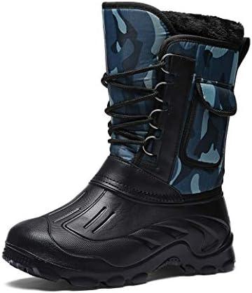 防寒靴 ショートブーツ 防滑トレッキングブーツ メンズ 軽量 防水 防寒 アウトドアシューズ ハイキングシューズ ウォーキングシューズ 裏起毛 登山 スポーツシューズ 防滑 スニーカーブーツスノーブーツ