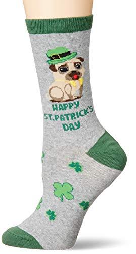 K. Bell Socks Women's Dog Lover Novelty Casual Crew Socks