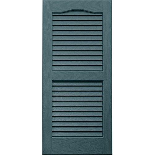Vantage 0114031990 14X31 Louver Arch Shutter/Pair 990, Wedgewood Blue [並行輸入品] B01JVXD9YA 21173
