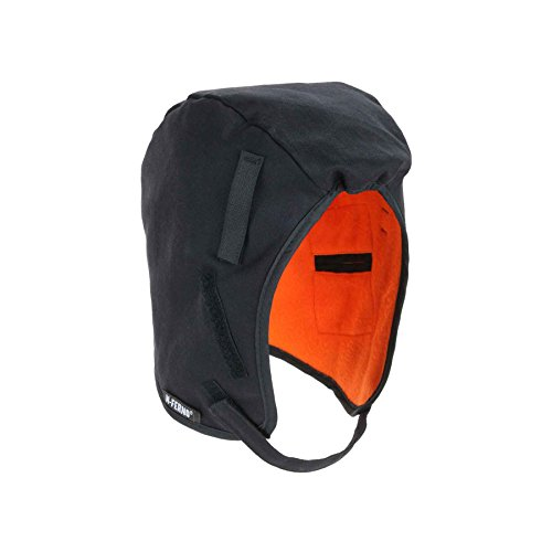 N-Ferno 6860 Thermal Hard Hat Winter Liner with Fire Resistant Shell, Black