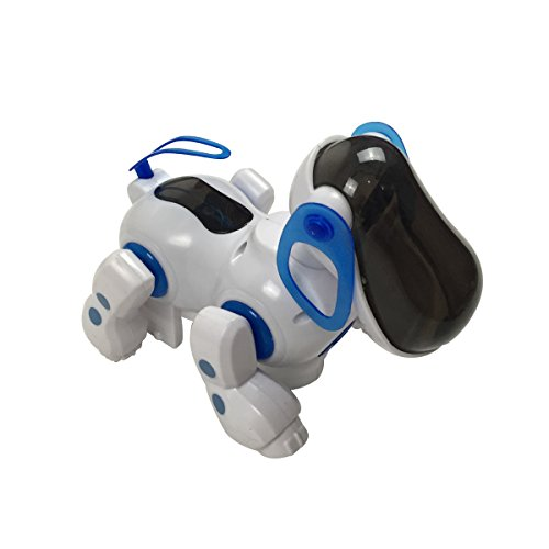 Nice Children Sensible Robotic Dancing Canine Bump and Go Digital Toy Pet with Lights and Sounds  Critiques