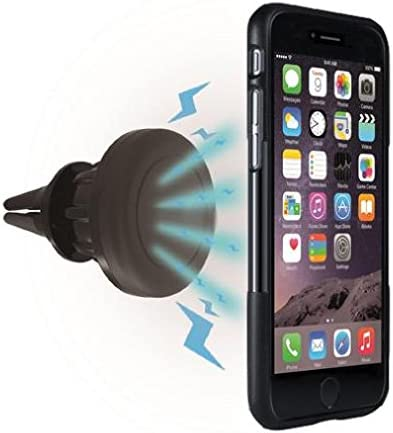 Magnetic Air Vent Holder Swivel Dock Strong Grip Compatible with Samsung Galaxy A10e Car Mount for Galaxy A10e