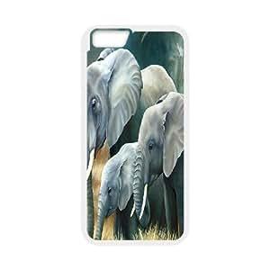 "C-Y-F-CASE DIY Design Cute Wild Elephant Animal Pattern Phone Case For iPhone 6 (4.7"")"