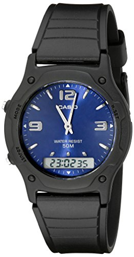 Casio Men's AW49HE-2AV Ana-Digi Sport Watch (Dual Time Stopwatch)