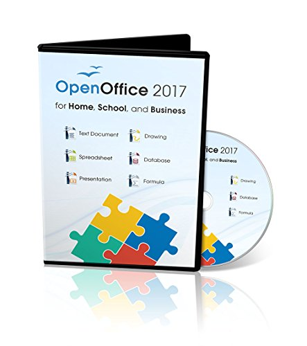 Office Suite 2017 Home Student and Business by Apache OpenOfficeTM for PC...