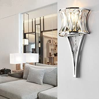 Modern Minimalist Wall Lamp Living Room Lamp Crystal Lamp Foyer Lamp  Bedside Lamp Aisle Lights Part 38