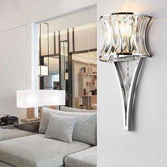 Modern Minimalist Wall Lamp Living Room Lamp Crystal Lamp Foyer Lamp Bedside