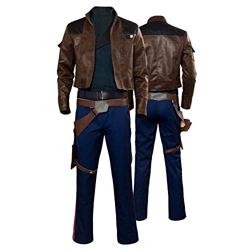 Adult Men's Han Solo Cosplay Costume Halloween