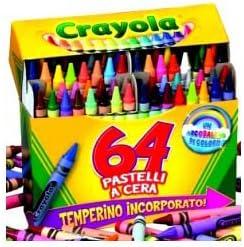 64/St Crayola Wachsmalstifte 0064